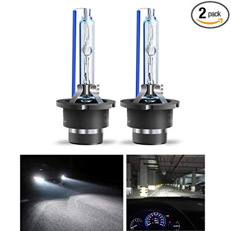 Xenon bulb clipart banner freeuse download D2S HID Headlight Bulbs by MONDES Xenon Replacement Car Automobile  Headlamps for High Beam and Low Beam, Extremely Bright With 1 Year Warranty  (6000K, ... banner freeuse download