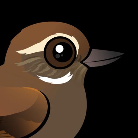 Xenops clipart transparent Cute Plain Xenops by Birdorable < Meet the Birds transparent