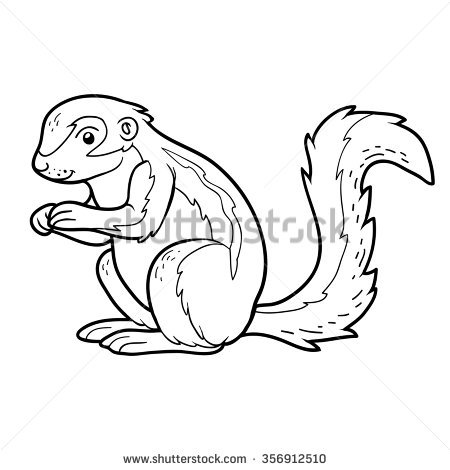 Xerus squirrel clipart svg freeuse stock Squirrel Clipart Black And White (94+ images in Collection ... svg freeuse stock