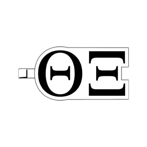 Xi greek letter clipart svg black and white library Greek Letters, Theta Xi - Plastic Greek letter shaped key tag made ... svg black and white library