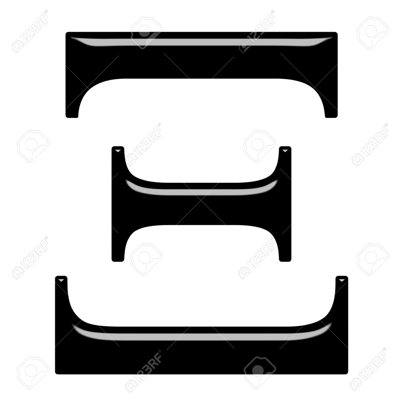 Xi greek letter clipart svg royalty free 3d Greek Letter Xi Isolated In White Stock Photo, Picture And ... svg royalty free