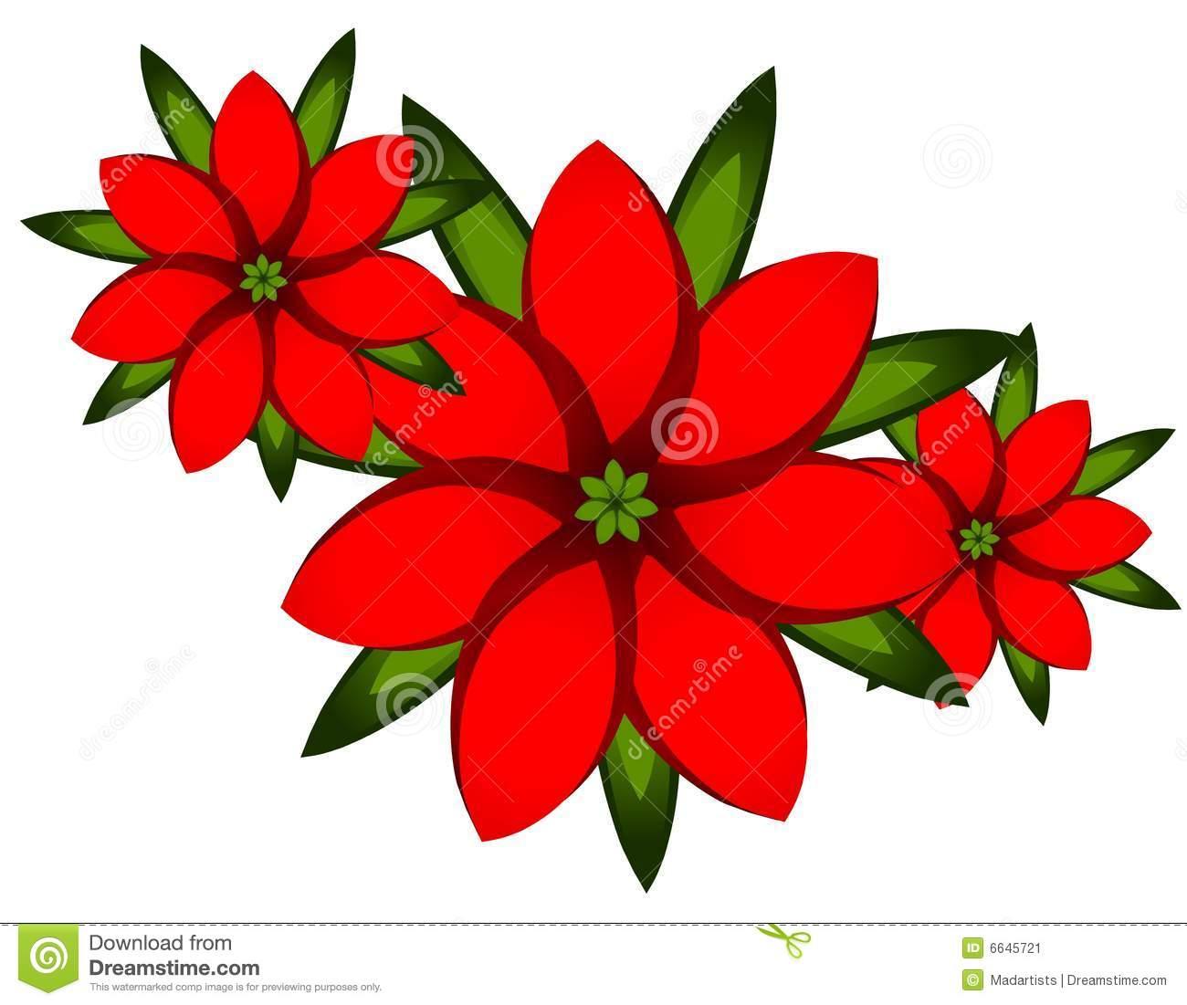 Xmas cliparts image download Poinsettia clip art free - ClipartFest image download