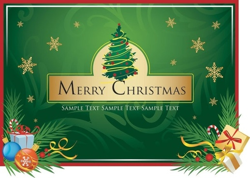 Merry christmas images free clipart clip transparent library Christmas card clip art free vector download (221,092 Free ... clip transparent library