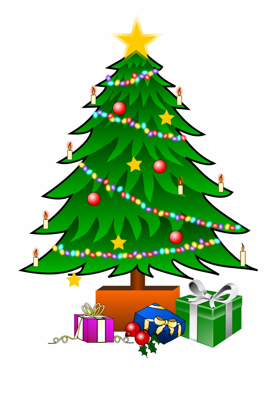 Xmas tree clipart png vector freeuse download Christmas Tree Graphic Christmas Tree Graphic Christmas ... vector freeuse download