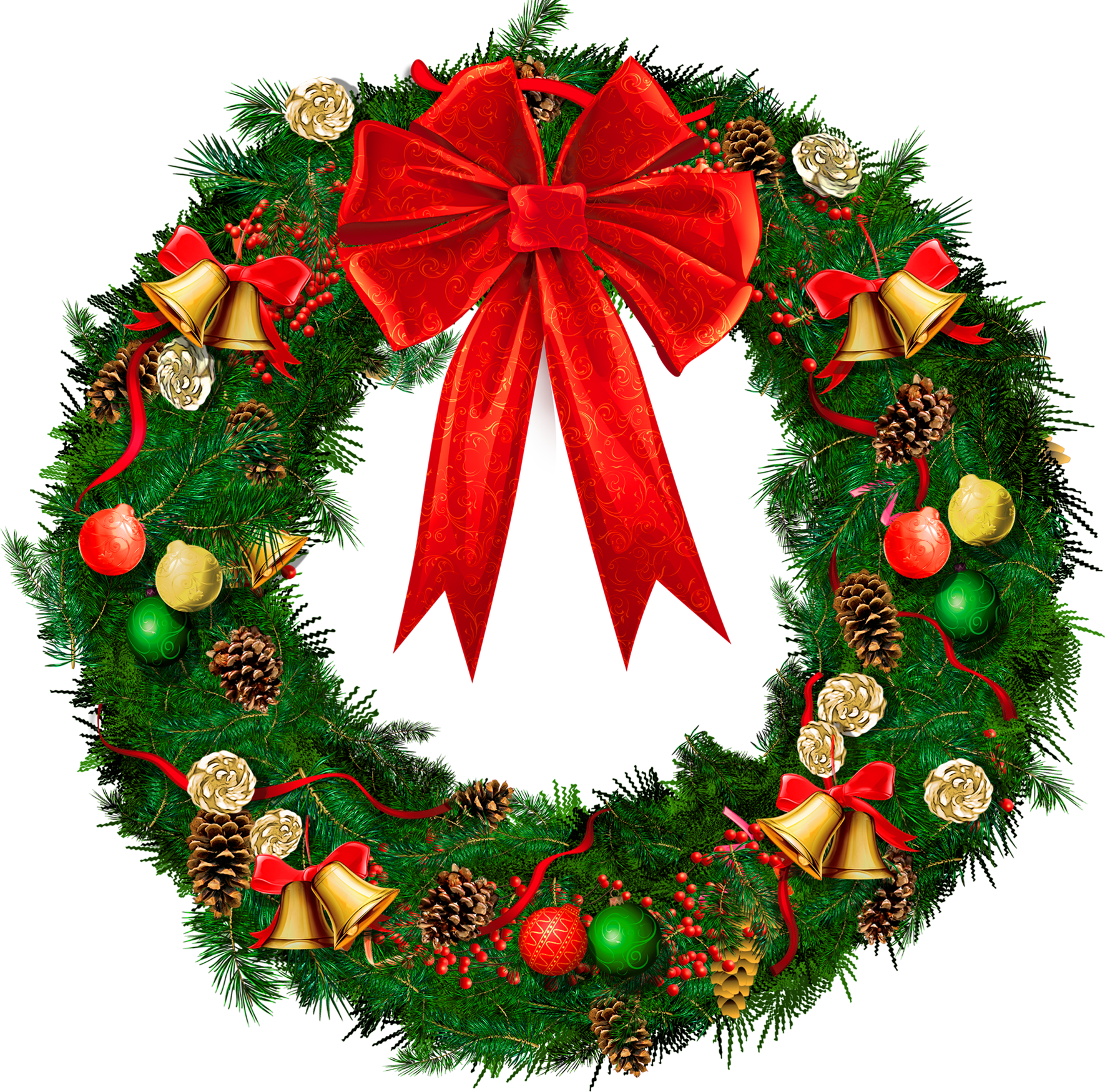 Xmas wreaths images clipart graphic library download Free Christmas Wreath Clipart, Download Free Clip Art, Free ... graphic library download