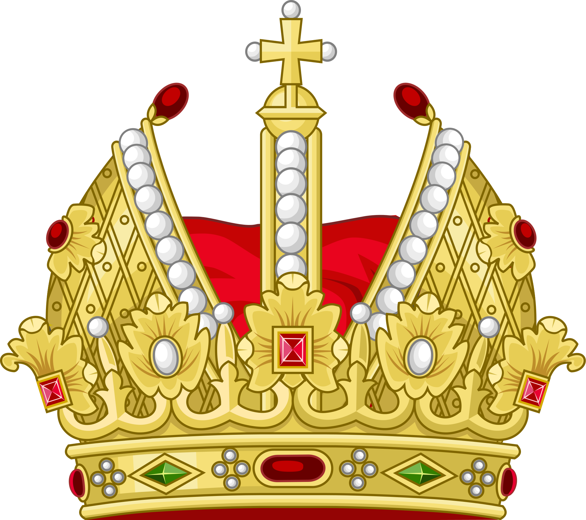 Xv crown clipart svg black and white stock Crowns clipart emperor crown - Graphics - Illustrations - Free ... svg black and white stock