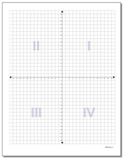 Xy plane clipart 1st quadrant svg download 84 Blank Coordinate Plane PDFs [Updated!] svg download