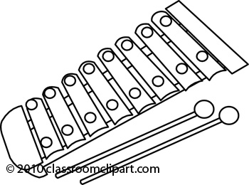 Xylophone black and white clipart clip art library library Xylophone Clipart Black And White | Clipart Panda - Free ... clip art library library