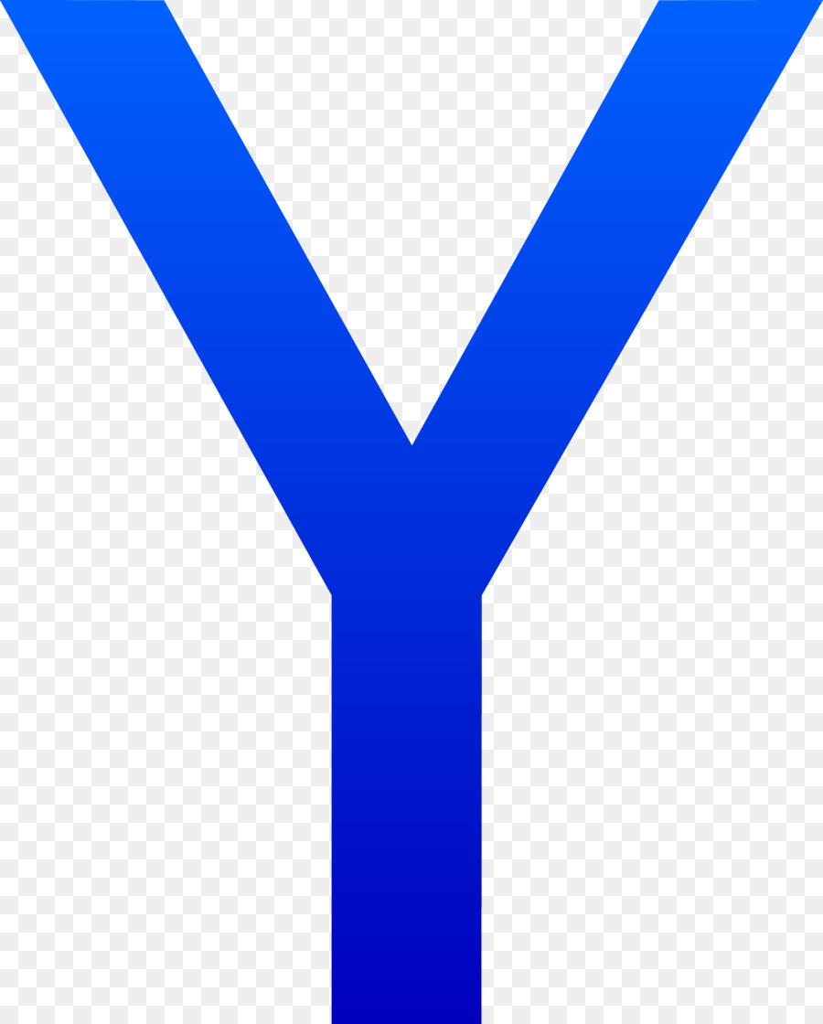 Y clipart clip black and white download Line Logo clipart - Letter, Blue, Text, transparent clip art clip black and white download