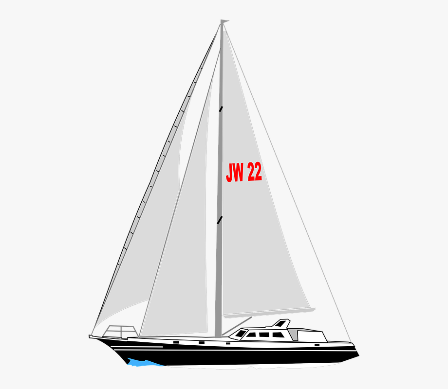 Yacht clipart ppng transparent library Sailboat, Boat, Yacht, Sail, Water, Sea, Sailing - Sailing ... transparent library