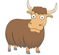 Yak images clipart clipart free Yak Clipart | Clipart Panda - Free Clipart Images clipart free