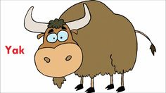 Yancy yak clipart picture transparent stock 7 Best Yak Theme images in 2016 | Preschool crafts ... picture transparent stock