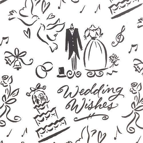 Yankee candle logo clipart svg royalty free download Wedding Day/Wedding Cake Reversible Wrapping Paper Gift Set ... svg royalty free download