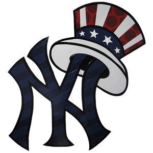 Yankee logo clipart banner transparent download Free New York Yankee Clipart   Free Images at Clker.com ... banner transparent download