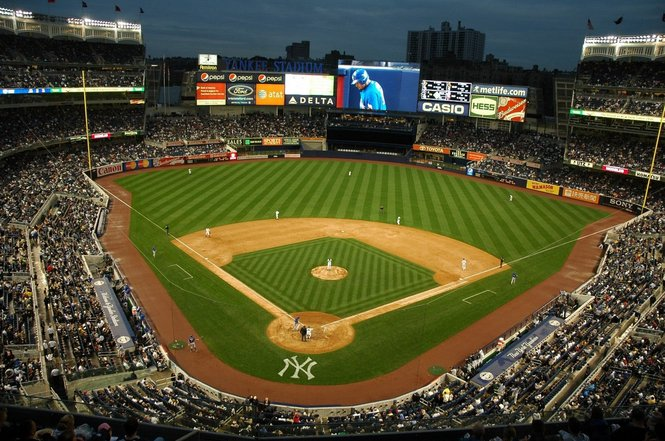 Yankee stadium digital clipart banner free library Free Baseball Field, Download Free Clip Art, Free Clip Art ... banner free library