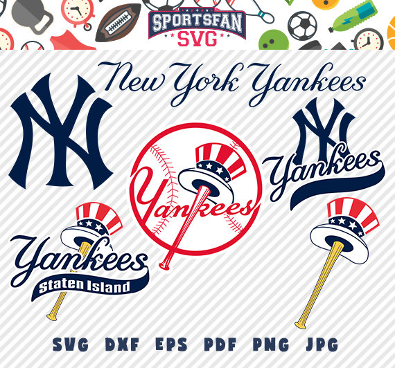 Yankees digital clipart png freeuse Pin by Amy M on Cricut cut files | Yankees logo, New york ... png freeuse