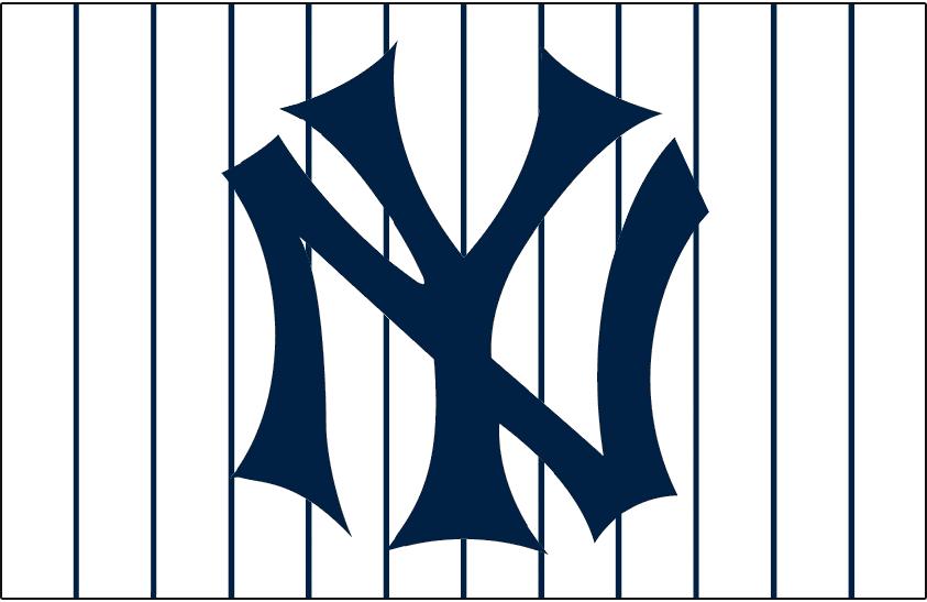 Yankees digital clipart jpg freeuse download New York Yankees Jersey Logo - American League (AL) - Chris ... jpg freeuse download