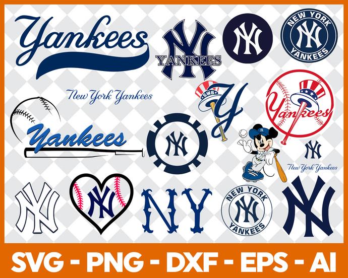 Yankees digital clipart graphic transparent stock New York Yankees, New York Yankees svg, New York Yankees clipart, New York  Yankees logo, New York Yankees cricut graphic transparent stock