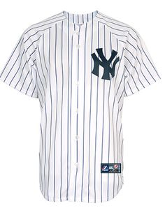 Yankees jersey back clipart
