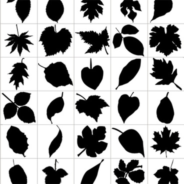 Yaprak vektor clipart svg black and white Leaf free vector download (4,532 Free vector) for commercial ... svg black and white