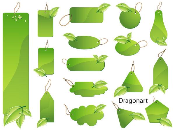 Yaprak vektor clipart clip art freeuse 141-Yeşil Etiketler vektör yaprak klip sanatlar, ücretsiz ... clip art freeuse
