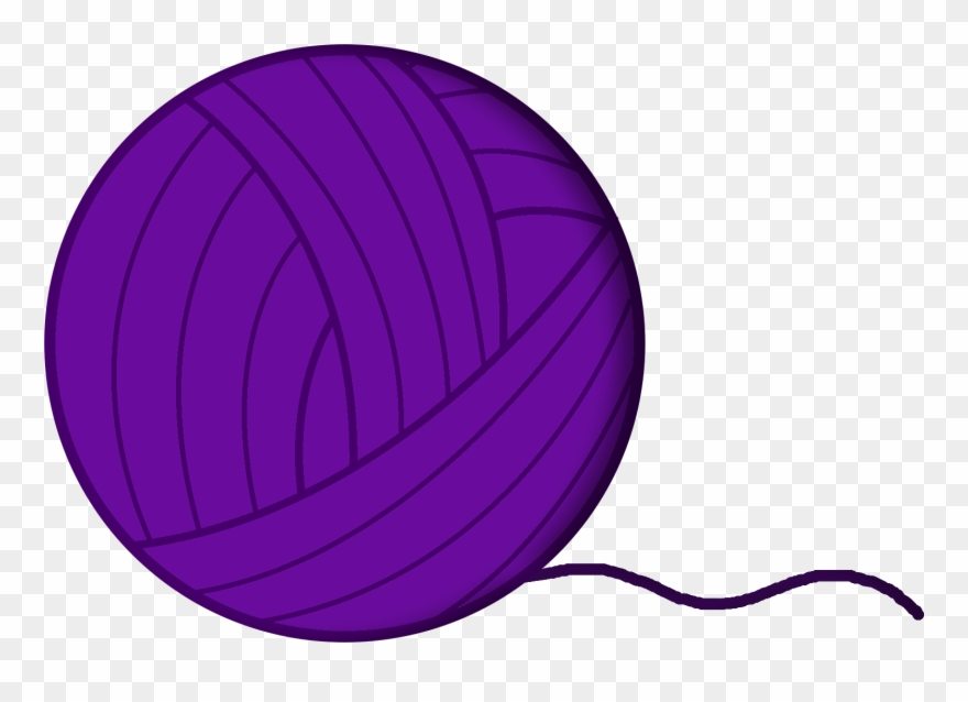 Yarn clipart purple image transparent library Yarn Transparent Images Pluspng - Bfdi Yarn Clipart (#678459 ... image transparent library