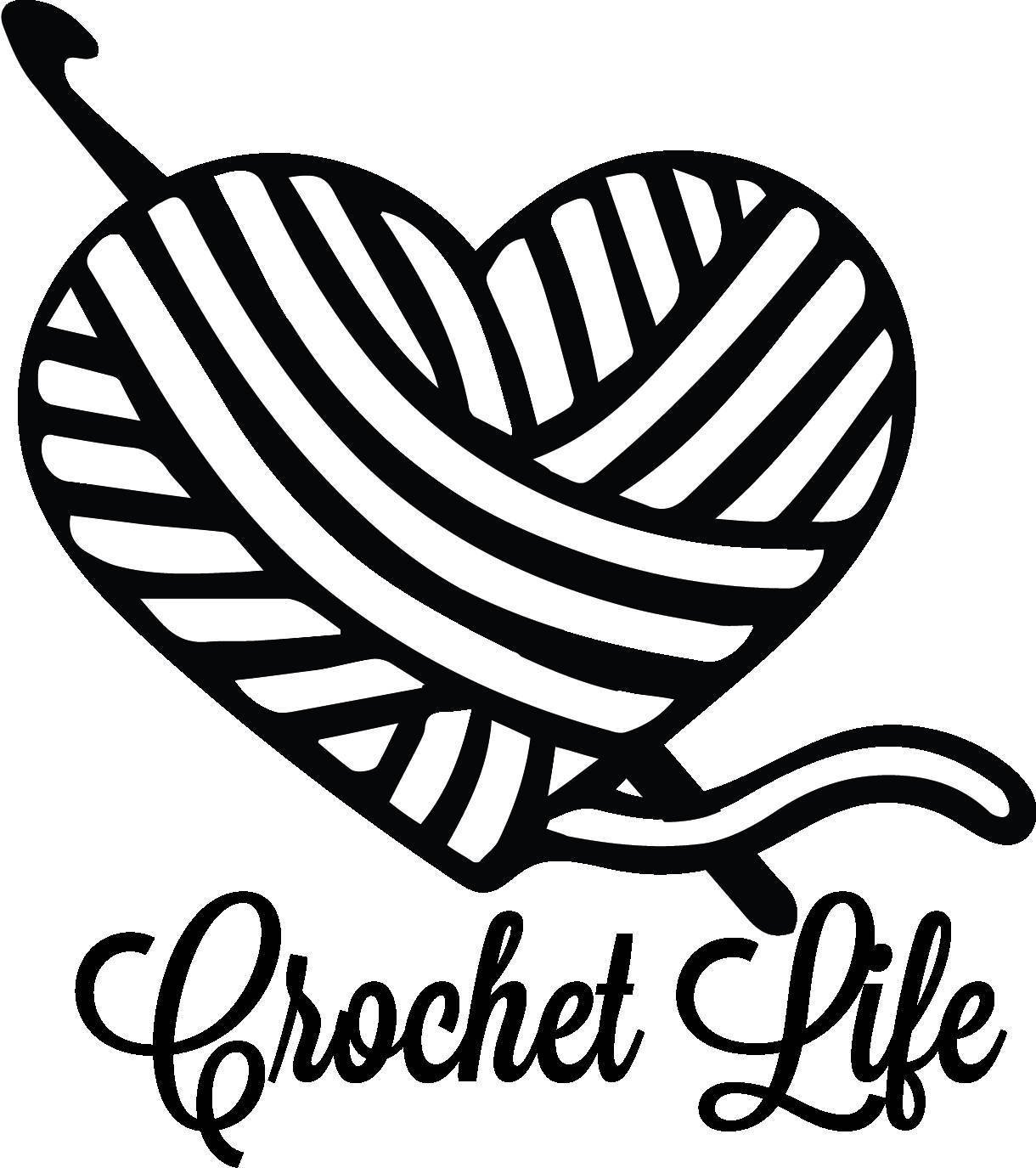 Yarn clipart with crochet hooks png black and white library Yarn and crochet hook clipart 6 » Clipart Portal png black and white library
