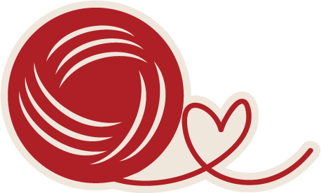 Heart ball of yarn clipart clip freeuse library Ball Of Yarn SVG file from MissKateCuttables.com ... clip freeuse library