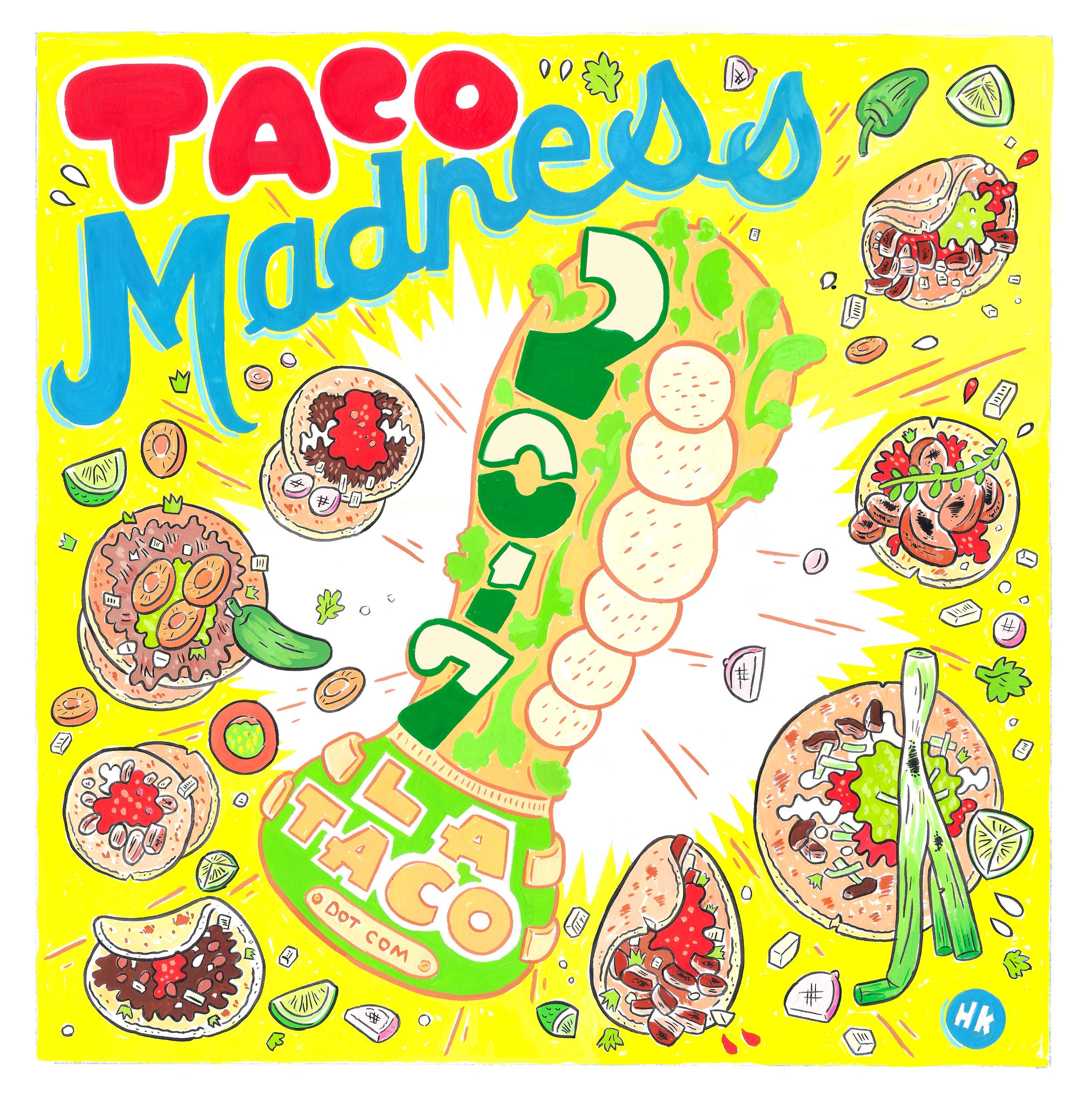 Yay best shrimp tacos clipart jpg royalty free library Taco Madness 2017 ~ L.A. TACO jpg royalty free library