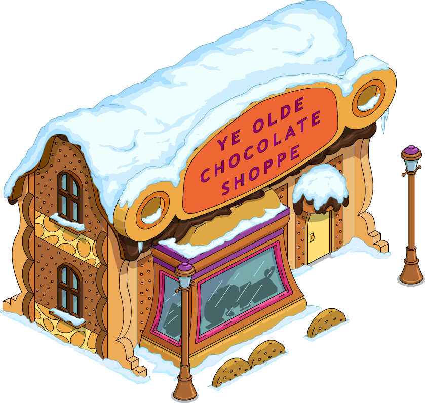 Ye olde shoppe clipart free stock Chocolate Shoppe | The Simpsons: Tapped Out Wiki | FANDOM ... free stock