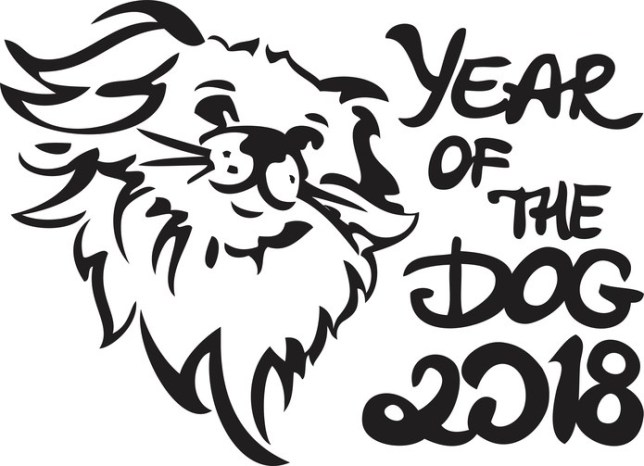 Year of the dog 2018 clipart svg free library Happy Chinese New Year! What are the traits of those born in ... svg free library