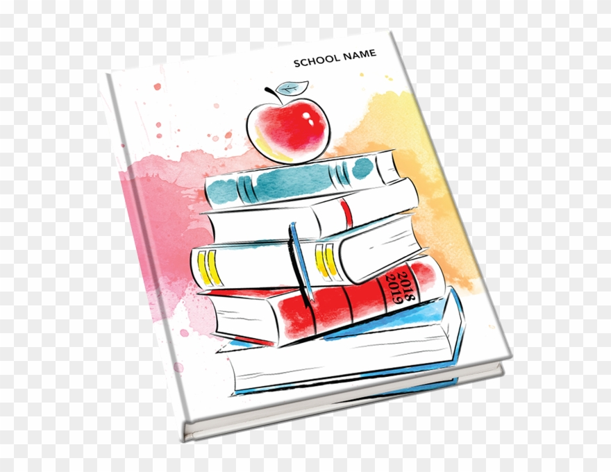 Yearbook cover clipart freeuse stock 2018-2019 Yearbook Covers - Mcintosh Clipart (#3213453 ... freeuse stock