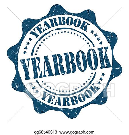 Yearbookl clipart blue & white picture freeuse library EPS Illustration - Yearbook stamp. Vector Clipart gg68540313 ... picture freeuse library