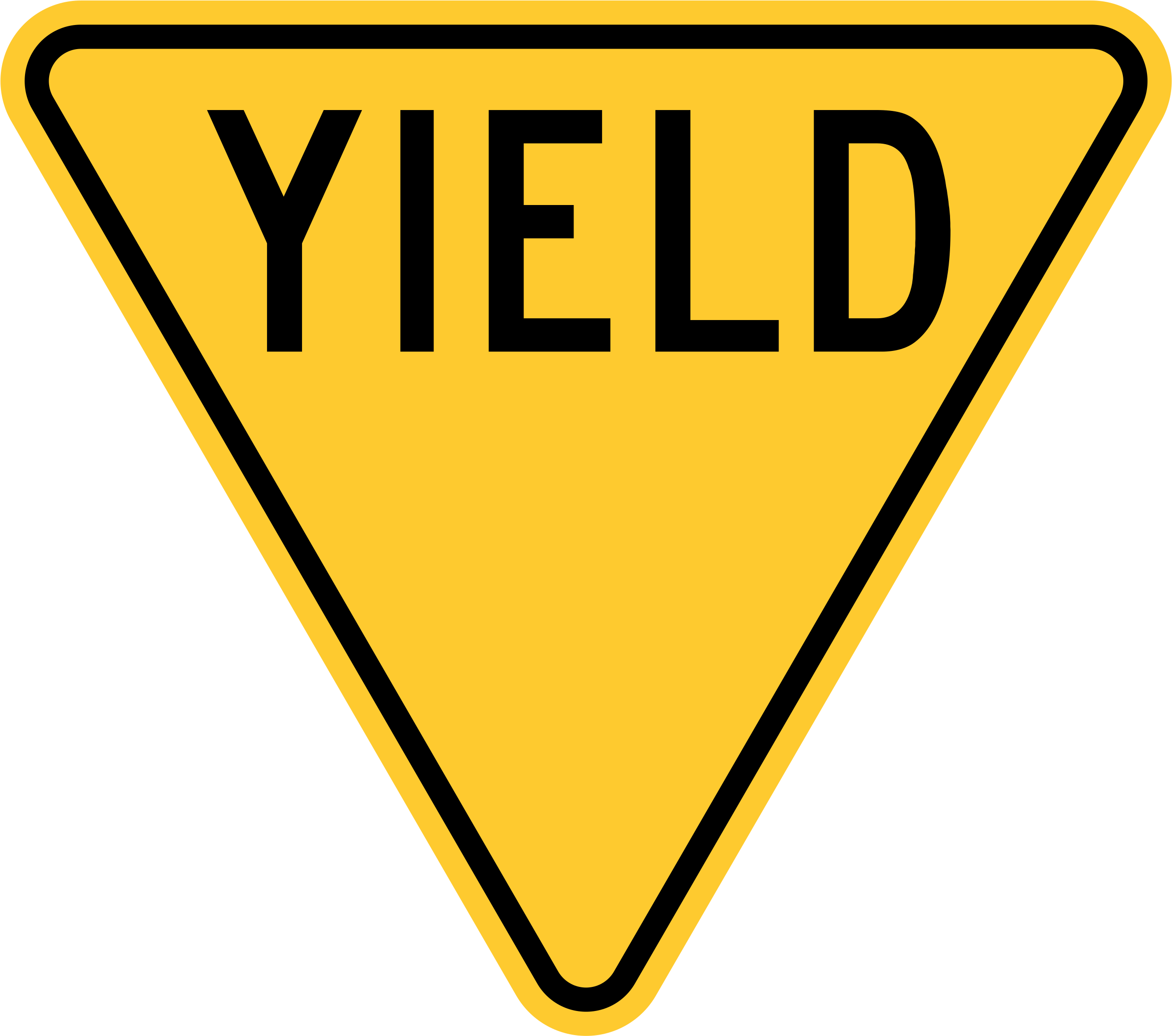 Yeild clipart clipart transparent download United States Sign - Yield Sign With No Background Clipart ... clipart transparent download