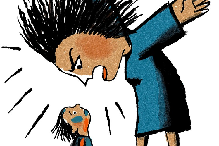 Woman yelled clipart vector library Talking to Your Child After You Yell - WSJ vector library