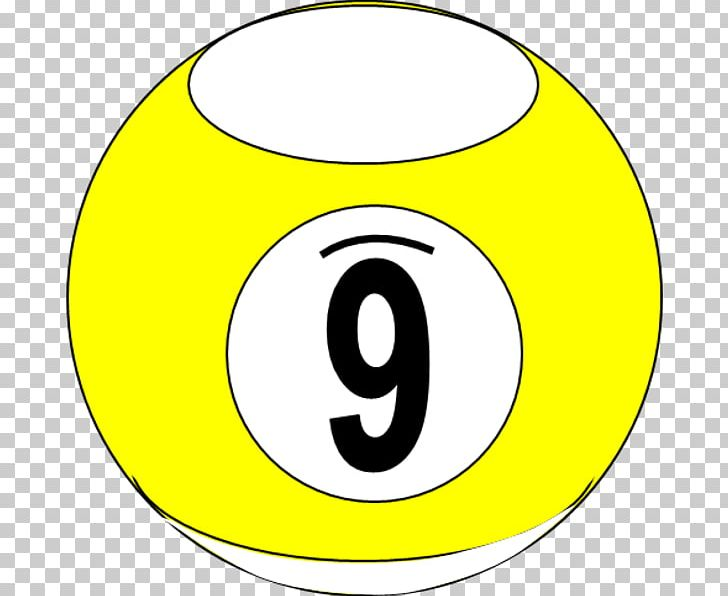 Yellow 9 ball clipart png black and white download Nine-ball Billiard Balls Billiards Pool PNG, Clipart ... png black and white download