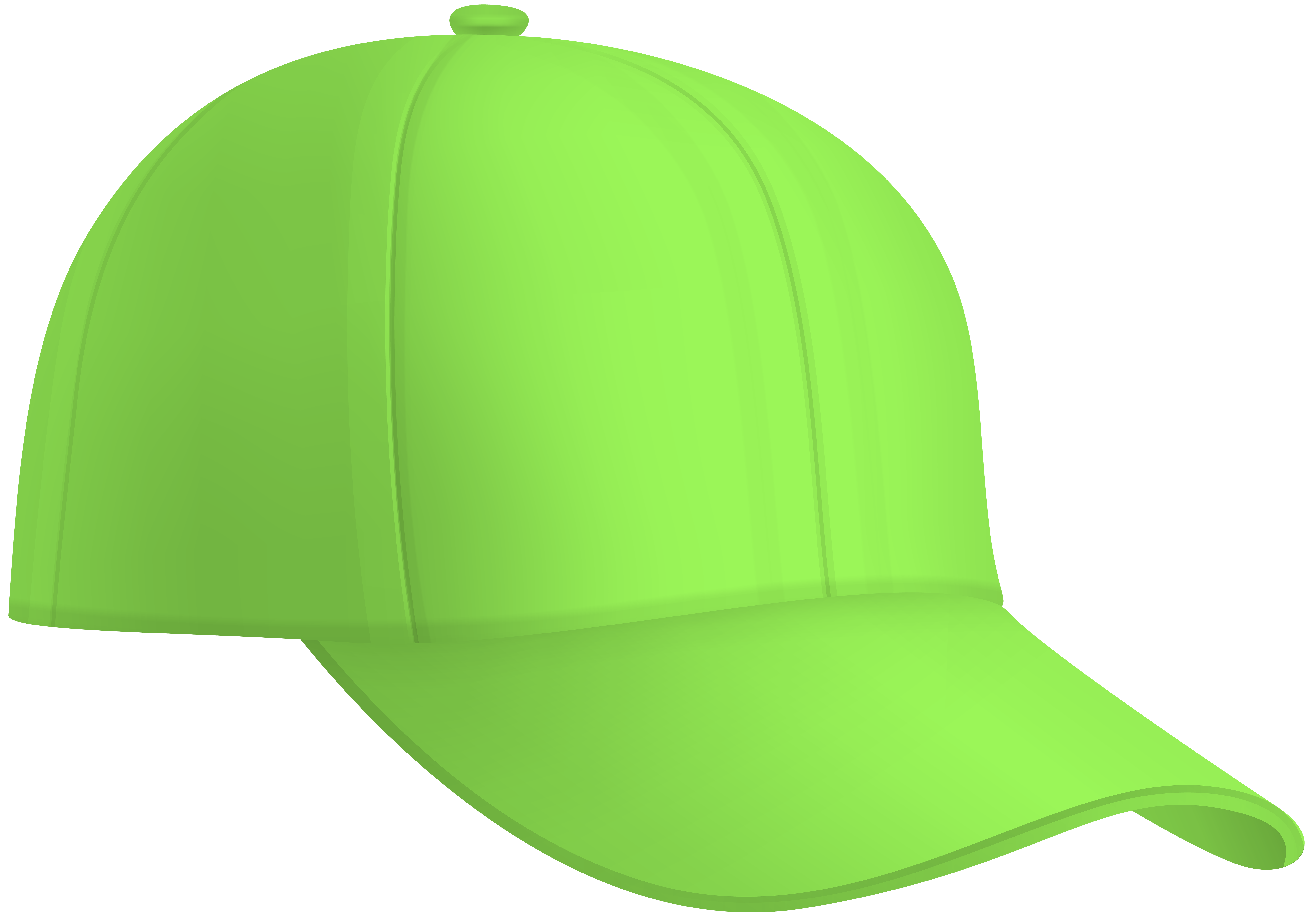 Yellow and green hat clipart freeuse Baseball Cap Green PNG Clip Art Image | Gallery ... freeuse