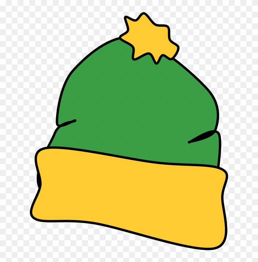 Yellow and green hat clipart svg transparent download Hat, Winter, Green, Yellow, Style 2, Clipart (#3300397 ... svg transparent download