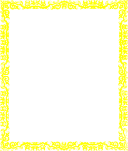 Yellow and teal border clipart clipart royalty free stock Yellow Border Clip Art at Clker.com - vector clip art online ... clipart royalty free stock