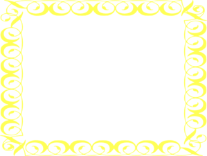 Yellow and teal border clipart jpg transparent download Free yellow Border Clip Art | Yellow Border Frame clip art ... jpg transparent download