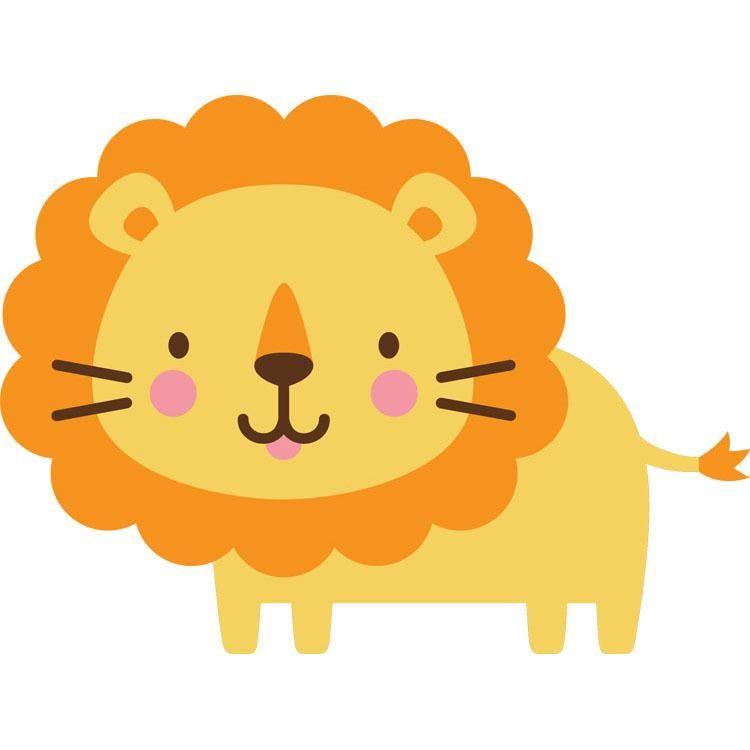 Yellow animals clipart clip Create a Critter - 34 | Crafts✏ | Create a critter, Lion ... clip