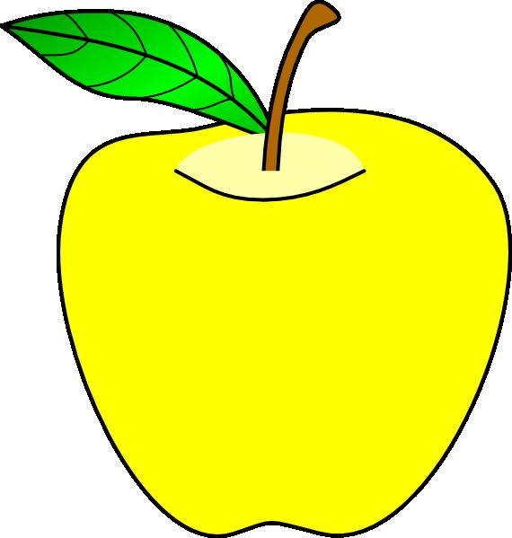 Yellow apple tree clipart clip art transparent Yellow Apple Clip Art at Clker.com - vector clip art online, royalty ... clip art transparent