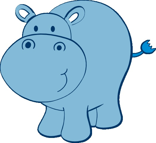 Hippo clipart clip royalty free download Baby Hippo Clipart | Free download best Baby Hippo Clipart ... clip royalty free download