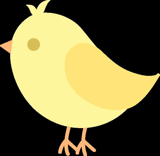 Yellow bird clipart free vector transparent library Cute Yellow Bird Clip Art - Free Clip Art vector transparent library