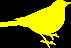 Yellow bird clipart free svg free Yellow Bird Clip Art at Clker.com - vector clip art online ... svg free