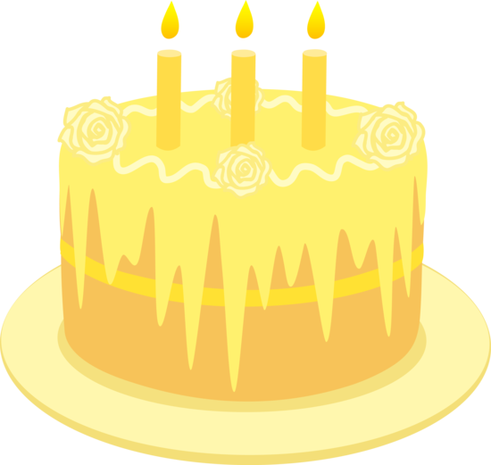 Yellow birthday cake clipart clipart library library Yellow birthday cake clipart - ClipartFest clipart library library