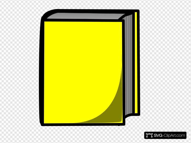 Yellow book clipart image jpg freeuse download Book Clip art, Icon and SVG - SVG Clipart jpg freeuse download