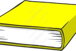 Yellow book clipart image graphic library library Yellow book clipart 1 » Clipart Station graphic library library