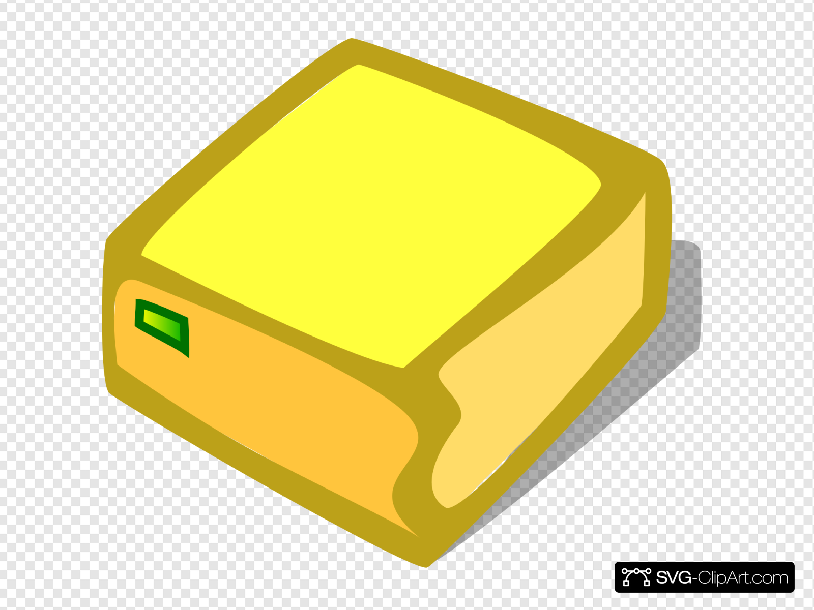 Yellow box clipart graphic library library Bright Yellow Box Clip art, Icon and SVG - SVG Clipart graphic library library