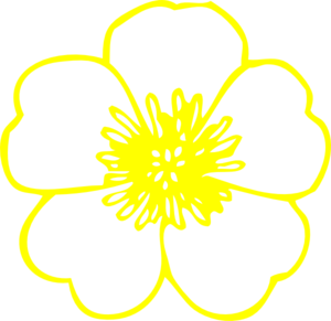 Yellow buttercups free png clipart image freeuse download Yellow Buttercup Flower Clip Art at Clker.com - vector clip ... image freeuse download